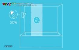 Vòi tắm thông minh tiết kiệm 50% nước sử dụng
