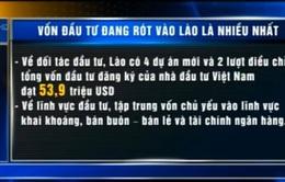 Việt Nam đang có vốn đầu tư vào Lào nhiều nhất