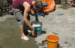 Hà Nội: Nước yếu để tránh vỡ đường ống nước sông Đà lần nữa