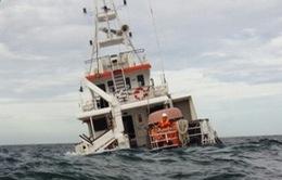 Tìm thấy thi thể thứ 3 vụ chìm tàu cá ở Bình Thuận