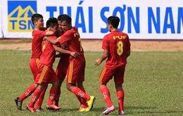 U17 Quốc gia - Cúp Thái Sơn Nam 2015 khởi tranh bảng B