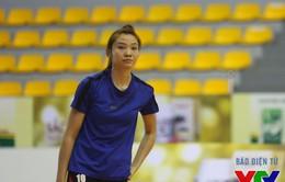 VTV Cup 2015: Hà Ngọc Diễm chấn thương trước giờ đấu CLB Liêu Ninh