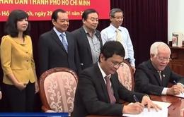 Đài THVN và UBND TP. Hồ Chí Minh ký kết chương trình phối hợp công tác