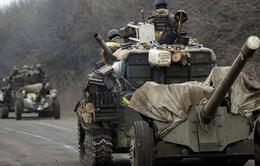 Vũ khí hạng nặng sẽ được rút ra khỏi miền Đông Ukraine