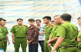 Cận cảnh buổi thực nghiệm điều tra vụ trọng án ở Bình Phước