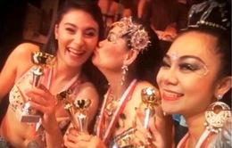 Vũ công Việt Nam vô địch Tribal Fusion Bellydance châu Âu 2015