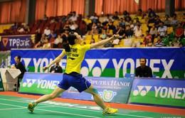 Toàn bộ các tay vợt Việt Nam bị loại khỏi giải Ciputra 2015