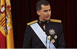"""Vua Tây Ban Nha """"thắt lưng buộc bụng"""" để giảm ngân sách"""