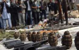 Syria thu giữ một lượng lớn vũ khí ở khu vực giáp giới Lebanon