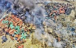 Số người thiệt mạng trong thảm họa Thiên Tân tiếp tục tăng
