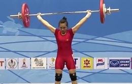 Vương Thị Huyền giành 3 huy chương tại giải cử tạ thế giới