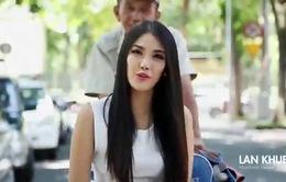Hoa hậu Thế giới 2015: Lan Khuê khoe vẻ đẹp tự tin trong clip giới thiệu