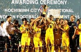 CLB TP.HCM vô địch giải bóng đá nữ quốc tế TP.HCM
