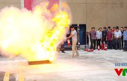 Đài Truyền hình Việt Nam tăng cường công tác tập huấn phòng cháy chữa cháy