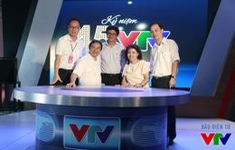 TGĐ Trần Bình Minh gặp gỡ cán bộ Đài THVN tại gian hàng VTV