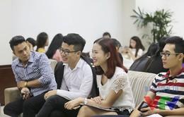 Sôi động tuyển sinh Cầu vồng 2015 - lĩnh vực MC tại Hà Nội