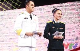 MC Minh Hà trẻ trung xuất hiện tại Gala Chúng tôi là chiến sĩ