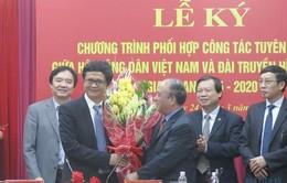 Đài THVN, Hội Nông dân Việt Nam ký kết hợp tác nâng cao hiệu quả tuyên truyền