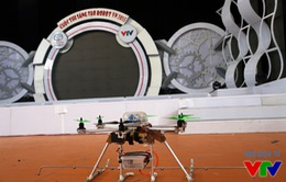 """""""Phát hiện"""" Flying-Cam tại sân thi đấu VCK Robocon Việt Nam 2015"""