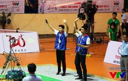 SPKT Hưng Yên đại thắng tại vòng 1/8 VCK Robocon Việt Nam 2015