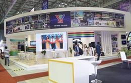 Gian hàng triển lãm VTV tại Telefilm 2015: Hiện đại và ấn tượng