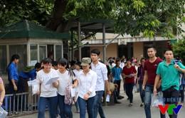 Đáp án tham khảo đề thi môn Hóa học kỳ thi THPT Quốc gia 2015