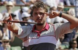 Dàn sao quần vợt ngưỡng mộ Wawrinka sau CK Pháp mở rộng 2015