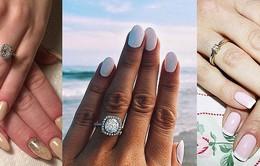 Những mẫu móng tay đẹp dành cho cô dâu