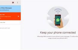 WhatsApp phiên bản web đã hỗ trợ Firefox và Opera