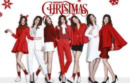Quán quân Vietnam's Next Top Model 2015 rạng rỡ trong sắc đỏ đón Giáng Sinh