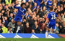 Willian sút phạt đẹp mắt mở tỉ số trận Chelsea - Southampton