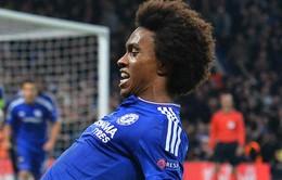 Bàn thắng của Willian đẹp nhất lượt 4 vòng bảng Champions League