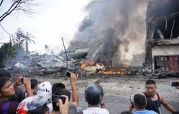 Rơi máy bay tại Indonesia: Hơn 110 người thiệt mạng
