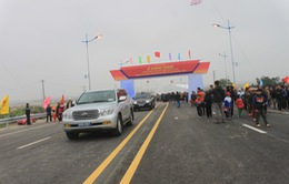 Khánh thành cầu Nguyệt Viên bắc qua sông Mã