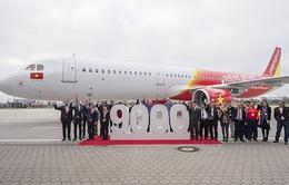 Vietjet Air đón máy bay A321 đầu tiên