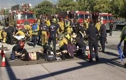 Gần 30 người thương vong trong vụ xả súng ở California, Mỹ