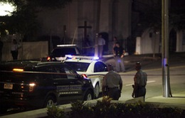 Hiện trường vụ xả súng đẫm máu ở nhà thờ Emanuel AME