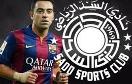 """Rời Barcelona, Xavi """"hốt bạc"""" khi sang Qatar thi đấu"""