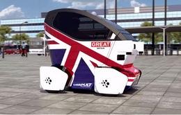 Khám phá ôtô tự lái đầu tiên tại Anh