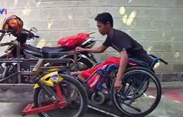 Xe máy đặc biệt dành cho người khuyết tật