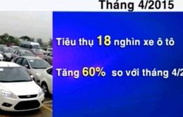 4 tháng đầu năm, Việt Nam tiêu thụ trên 18.000 ô tô