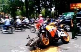 Xe phân khối lớn - nỗi lo an toàn giao thông