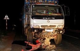 Vụ xe tải đâm công nông, 5 người chết: Tài xế dùng bằng giả
