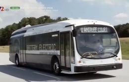 Xe bus điện di chuyển được 482 km sau một lần sạc