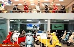 Hơn 600 xe máy Piaggio nhập khẩu bị triệu hồi để sửa chữa