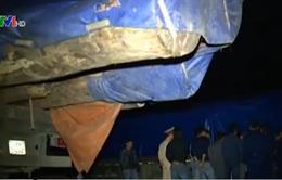 Hà Tĩnh: Đoàn xe chở gỗ quá tải dồn ứ cửa khẩu quốc tế Cầu Treo