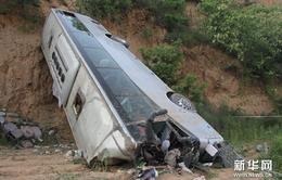 Trung Quốc: Xe khách lao xuống vực, ít nhất 35 người thiệt mạng