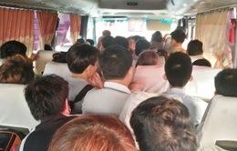 Thái Nguyên: Bắt xe khách 29 chỗ ngồi nhồi nhét 52 người