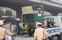Hà Nội ra quân xử lý xe máy 'cũ nát'