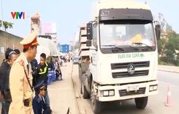 Hà Nội: Tuần lưu xử lý xe quá tải dịp Tết